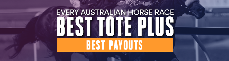 Our Best Tote Plus (BT+) pays the best price of all three TAB's or the on-course Starting Price (SP). You get the best payout on every Australian horse race, every day!