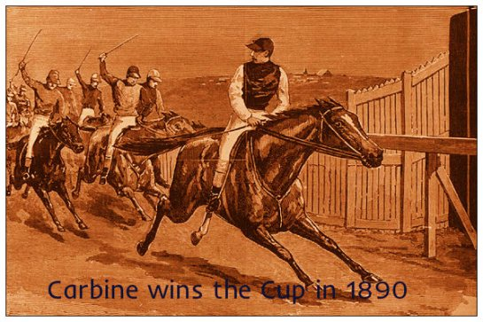 carbine 1890 melbourne cup