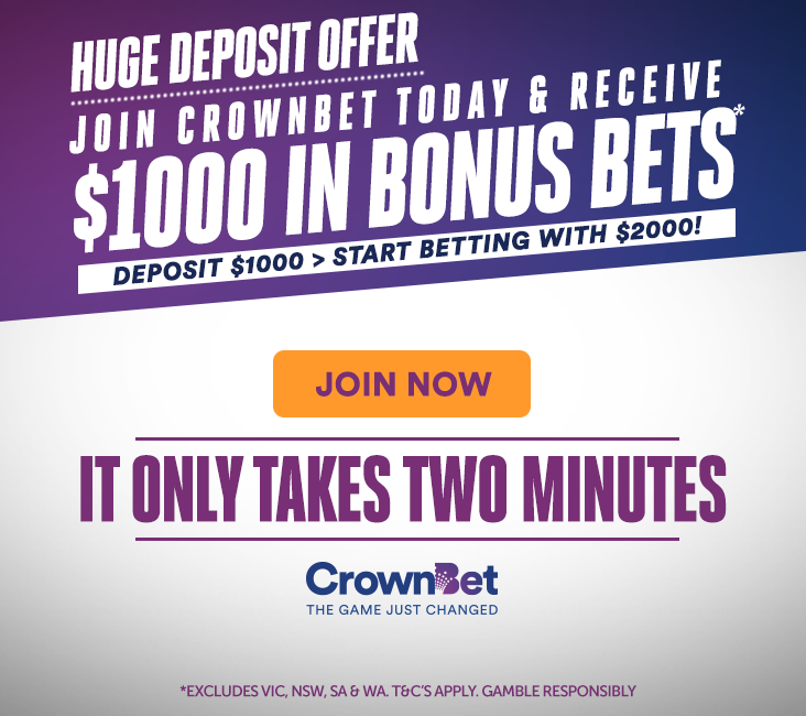 crownbet $1000 for $1000