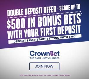 crownbet $250 for $500