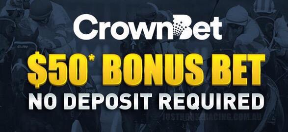 crownbet $50 free bet, no deposit