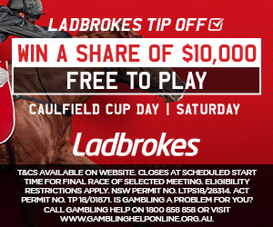 CAULFIELD CUP TIP OFF