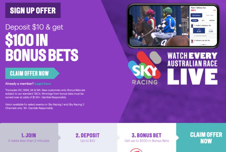 beteasy deposit $10 get $100 in bonus bets