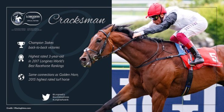 cracksman 2018 race summary longines co-worlds best race horse 2018