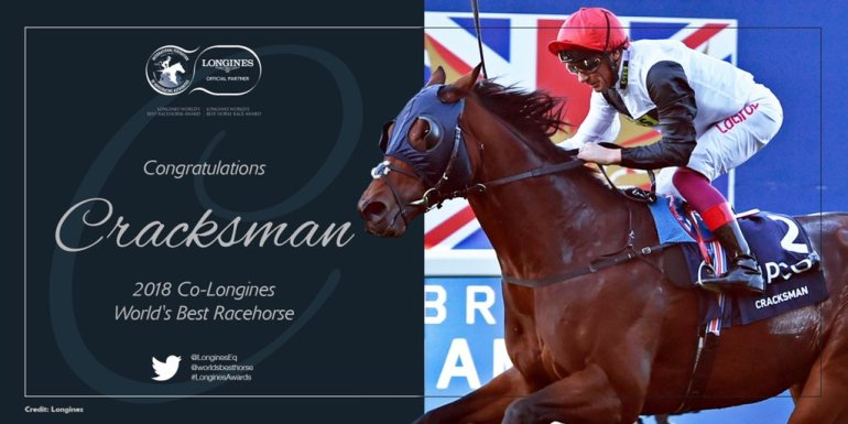 cracksman co-longines worlds best race horse 2018