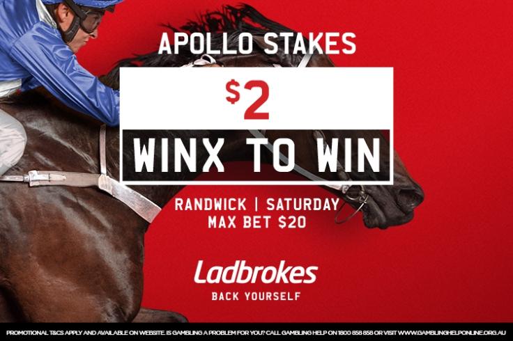 winx $2 apollo stakes