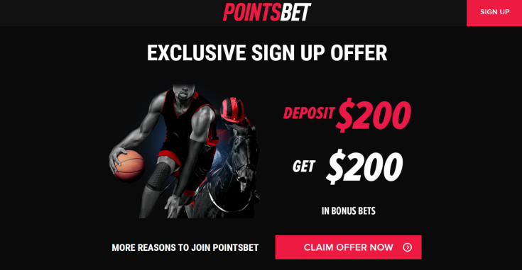 pointsbet sign up offer