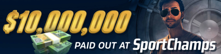 Sportschamps $10 million Paid Out