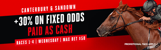 Cant : sand Fixed Odds +30%